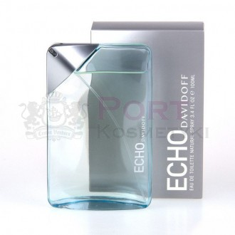 DAVIDOFF ECHO EDT 100 ML NATURAL SPRAY - woda toaletowa męska