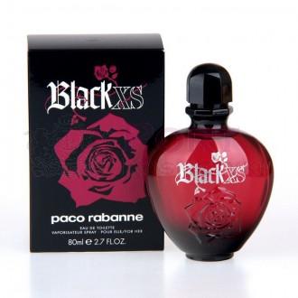 PACO RABANNE BLACK XS FOR HER EDT SPRAY 80ML - woda toaletowa damska