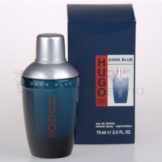 HUGO BOSS DARK BLUE EDT 75 ml NATURAL SPRAY - woda toaletowa męska