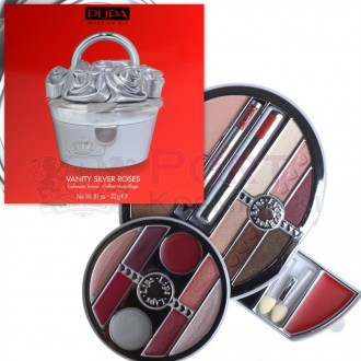 PUPA MAKE UP KIT VANITY SILVER ROSES ZESTAW DO MAKIJAŻU 05