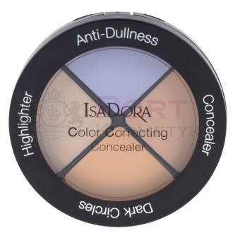 ISADORA Color Correcting Concealer ANTI-DULNESS NR.34 - Paleta korektorów