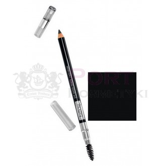 IsaDora Eye Brow Pencil with Brush 20 Black - Kredka do brwi ze szczoteczką