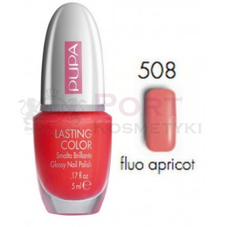 PUPA LAKIER DO PAZNOKCI LASTING COLOR 508 GLOSSY NAIL POLISH