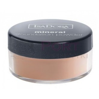 ISADORA MINERAL FOUNDATION POWDER  02 LIGHT ROSE-MINERALNY PODKŁAD DO TWARZY