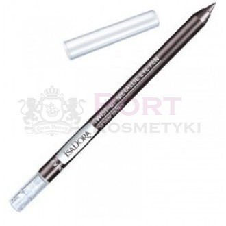 ISADORA TWIST-UP METALLIC EYE PEN 54 Dark Brown - Konturówka do powiek