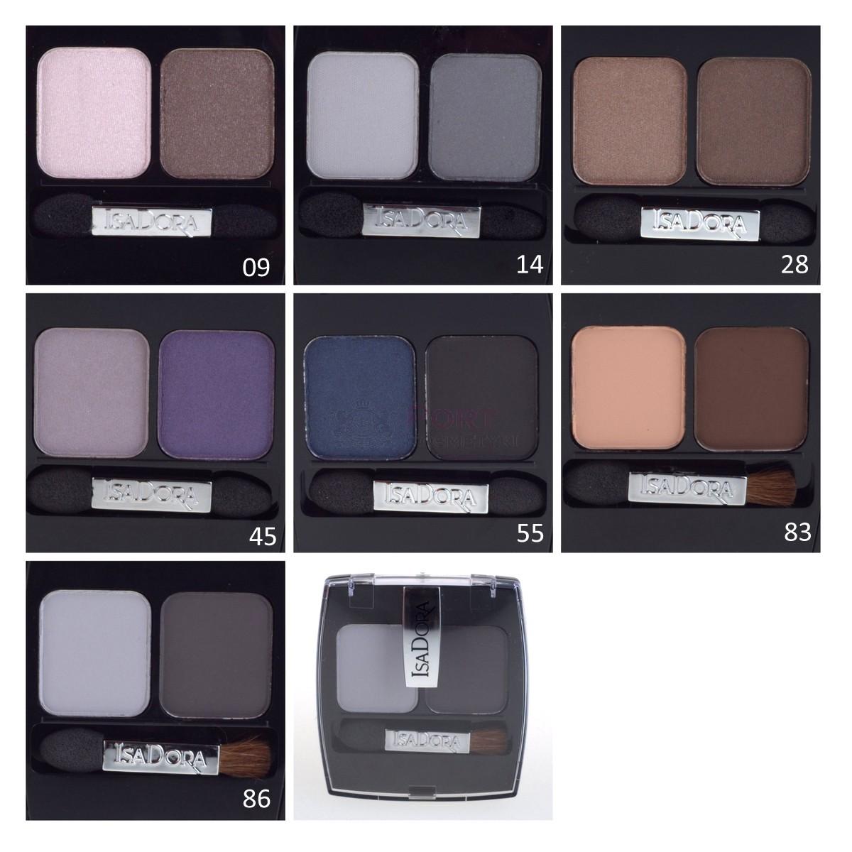 isadora light & shade eye shadow