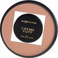 MAX FACTOR CREME PUFF  PUDER W KAMIENIU 53 TEMPTING TOUCH