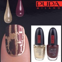 PUPA NAIL ART KIT 889 GOLD ROUGE / NOIR - ZESTAW DO MANICURE