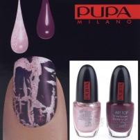 PUPA NAIL ART KIT 993 PINK / PURPLE - ZESTAW DO MANICURE