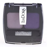 ISADORA LIGHT & SHADE EYE SHADOW 45 PURPLE HAZE - Podwójny Cień Do Powiek
