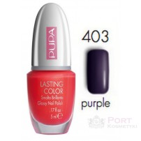 PUPA LAKIER DO PAZNOKCI LASTING COLOR 403 GLOSSY NAIL POLISH