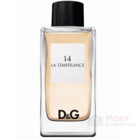 D&G DOLCE & GABBANA ANTHOLOGY 14 LA TEMPERANCE EDT 100 ML - WODA TOALETOWA DAMSKA tester
