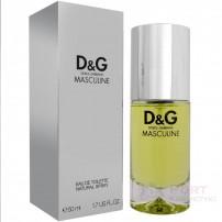 D&G DOLCE & GABBANA MASCULINE EDT 50 ML - WODA TOALETOWA MĘSKA UNIKAT